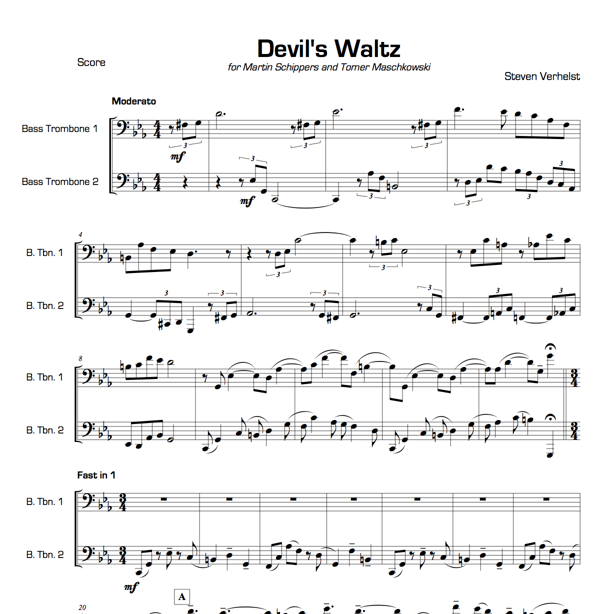 Wedding Songs Duets: Free Sheet Music For Trombone Duets